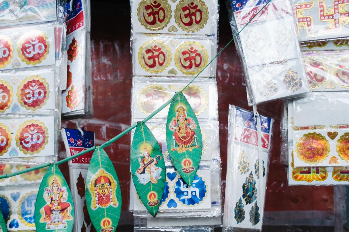 hindu stickers for sale